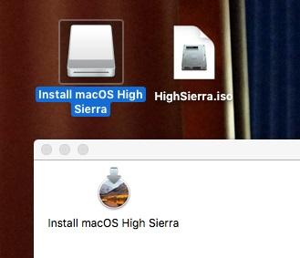 Create bootable ISO for High Sierra Installer – Colcombe Tech